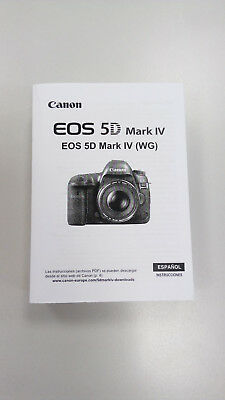 Manual Canon EOS 5D Mark IV (Castellano)