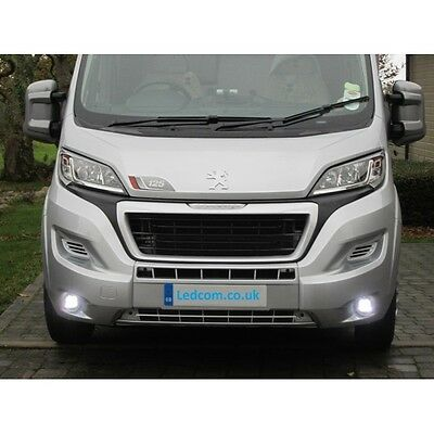Peugeot Boxer 2014  - Daytime Spot Running Lights DRL LED