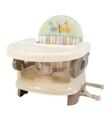 Summer Infant Deluxe Comfort Folding Booster Seat Tan New