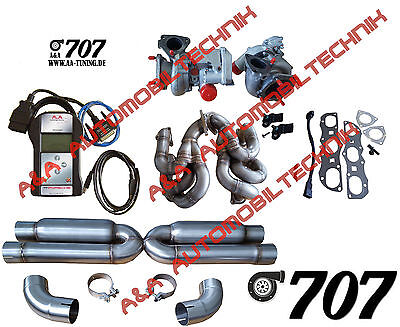 """Porsche 997.2 Turbo / TurboS Upgrade Kit A&A """"707"""" (Stage 3)"""