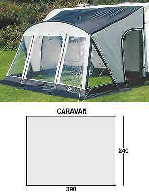 Sunncamp swift 390 DLX Deluxe caravan porch awning - 2017 SF7831