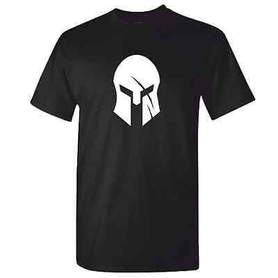 Mens SPARTAN TShirt - Training Race OCR Fitness Crossfit MMA Helmet Gym Top