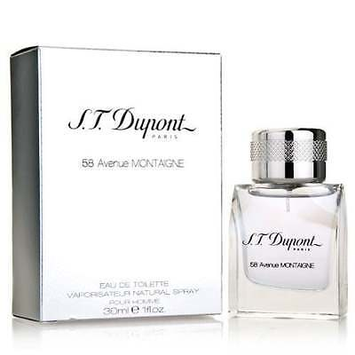 S.T Dupont 58 Avenue Montaigne Homme - 100ml Eau De Toilette Spray.