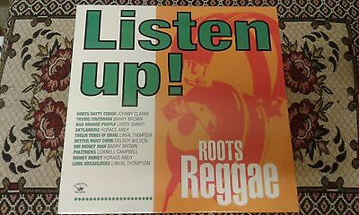 Listen Up , Roots Reggae , New LP Kingston Sounds KSLP035
