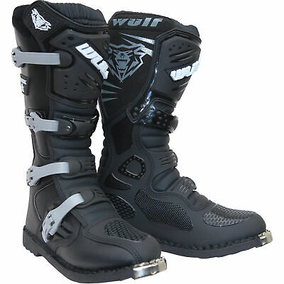 Wulfsport Track Star Boot Motocross Enduro Race Off Road Boots Black New 2017