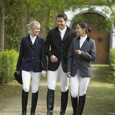 Elt Equestrian Horse Riding Jacket - New Piped Show Jumping Dressage Competition