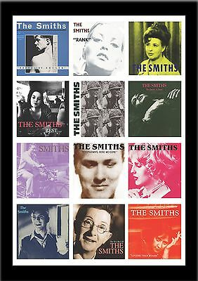 THE SMITHS ALBUMS poster A1 SIZE morrissey LARGE  POSTER MEAT IS MURDER