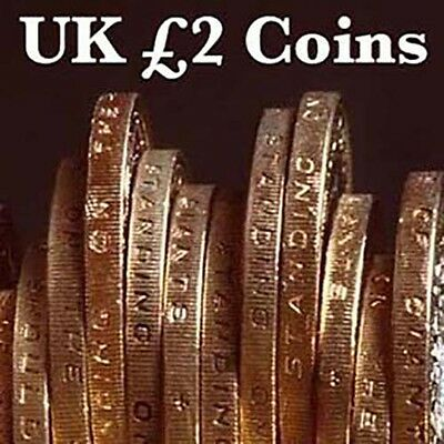 UK £2 Coins - Two Pound Coin - Choose your Year - Olympic, Britannia, WWII, Rio