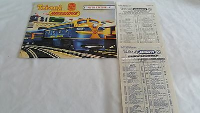 Triang Rovex No.5 Catalogue With Price Lists As Close To Mint As Possible