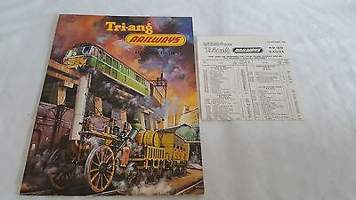 Triang Railways No.11 Catalogue With Price List In Mint Condition