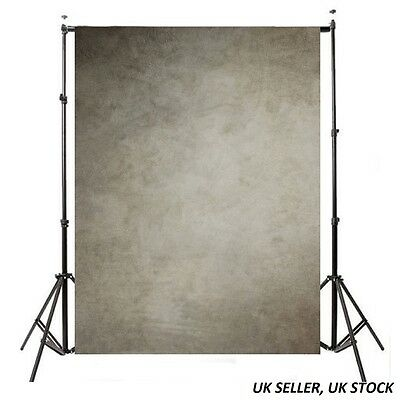 5x7ft Vintage Grey Wall Art Photography Background Photo Backdrop For Studio