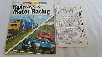 Triang Hornby Minic 14Th Edition Catalogue Totally Mint With Price List