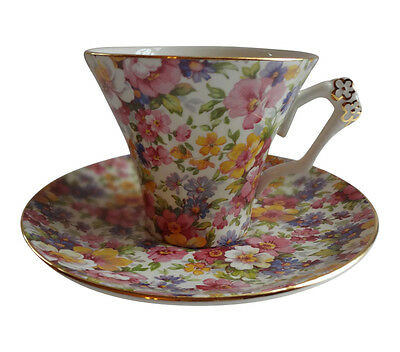 James Kent Du Barry Pattern Cup and Saucer
