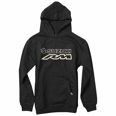 Factory Effex Official Suzuki RM Youth Boys Sweatshirt Casual Pullover Hoodies