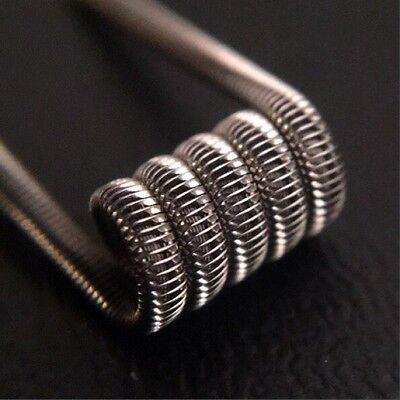 SALE! 2 NICHROME Tsuka Framed Staple coils + free coils (Clapton, Twisted, Alien