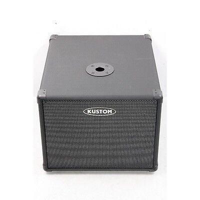 Kustom PA112S 200W Self-Contained Powered Subwoofer NEW!!
