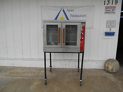 Vulcan Natural Gas Single Deck Full Size Convection Oven #1952