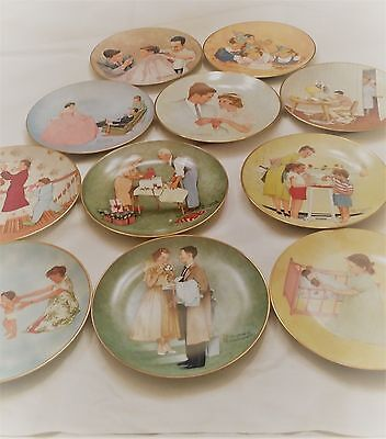 Norman Rackwell Collectors Plate The American Family Serie # 1