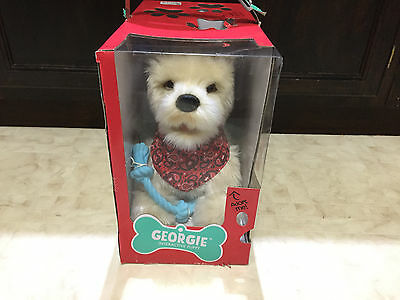 Georgie Interactive Plush ELECTRONIC PUPPY, Battery Operated Interactive DOG TOY