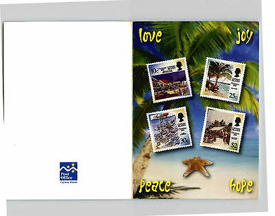 Official Philatelic Christmas Card From The Cayman Islands Post Office