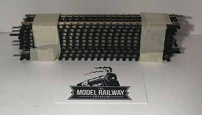Hornby 00 Gauge -  R600 - Half Straight X 10 - Used Good Condition Bargain