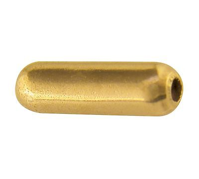 1x 9ct Yellow Gold Hat or Stick Pin Push on End Tip Protectors