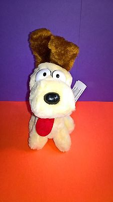"Odie Garfield Dakin Vintage Stuffed Animal Plush 1983 7"" Garfield and Friends"