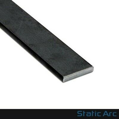 MILD STEEL FLAT BAR SOLID METAL STRIP 3-10mm THICK / 10-50mm WIDTH CUT LENGTHS