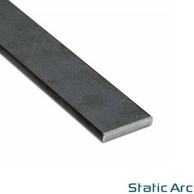 MILD STEEL FLAT BAR SOLID METAL STRIP 300mm LENGTH 3-10mm THICK ALL SIZES
