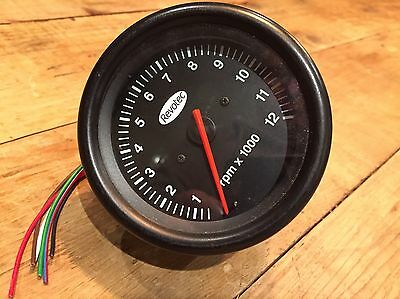 REVOTEC REV COUNTER 12K Tachometer Tacho