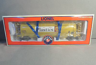Lionel Standard O Scale 6-17155 SHELL 3-Bay Cylindrical Hopper Car New in Box