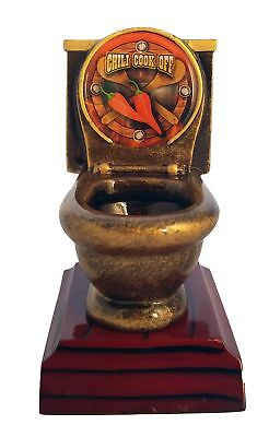 Chili Cook-Off Toilet Bowl Trophy / Last Place Award