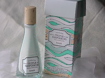 Benefit - TRIPLE PERFORMING FACIAL EMULSION - 50ml - Brand New & Boxed