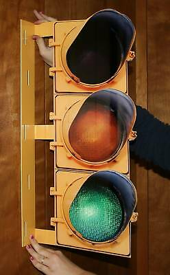 Traffic Light Double Sided - Metal Sign - PhotoSTEEL
