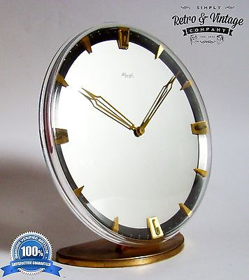 Heinrich Möller for Kienzle Mantle Clock 8-day movement Art Deco