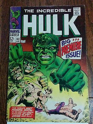 Incredible Hulk 102 - Key Issue - Excellent Mid Grade Issue - Wow!