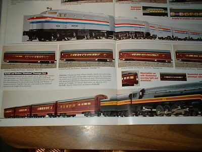 """Lionel #18040 Norfolk & Western """"j"""" With 6 Pass. Cars"""