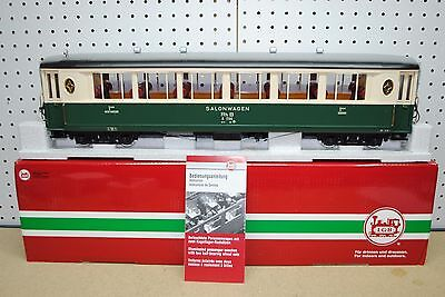 LGB 35650 RhB 1st Class Pullman Coach Salon Car (Green) *G-Scale* NEW