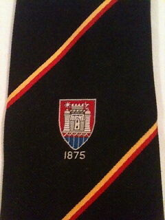Rugby Memorabilia Bridgwater And Albion Rugby Tie In Club Colours With Badge