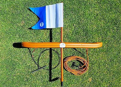 "Spearfishing Dive Flag Float - ""Smart Float - MkII"" Trailing Spike"