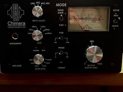 Sontronics Chimera Hybrid Valve/Solid-State Preamp, Very Rare