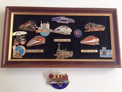 Collection Pin's Anciens SNCF TGV Train France