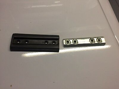 Bed Head Brackets.  150mm long x 60 mm wide. Very Strong & Easy to Use.
