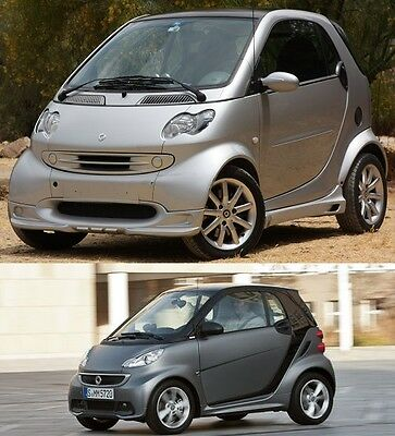 Smart ForTwo workshop repair service manual 1998 ~ 2013 W450 W451 For Two 2