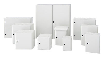 Steel Electrical Enclosure wall mount IP65 with backplate - Tempa pano