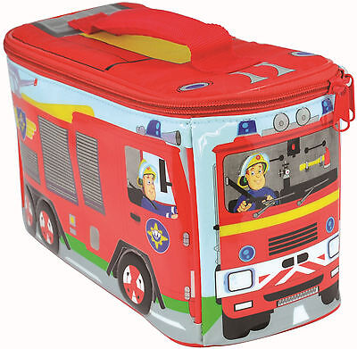 Fireman Sam | Jupiter | Fire Engine | Red Shaped Insulated Lunch School Bag