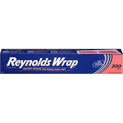 Reynolds Wrap Aluminum Foil (200 Square Foot Roll) New
