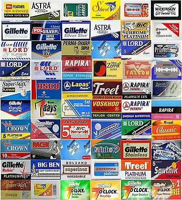 Double Edge Razor Blade Sample Mixed Pack for Safety Razor CREATE YOUR SELECTION