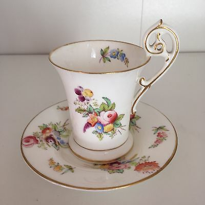 Rare Coalport Coffee Cup And Saucer
