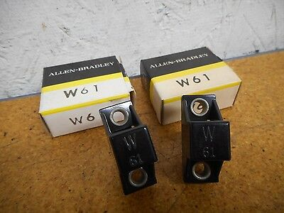 Allen Bradley W61 Thermal Overload Heater Elements New In Box (Lot of 2)